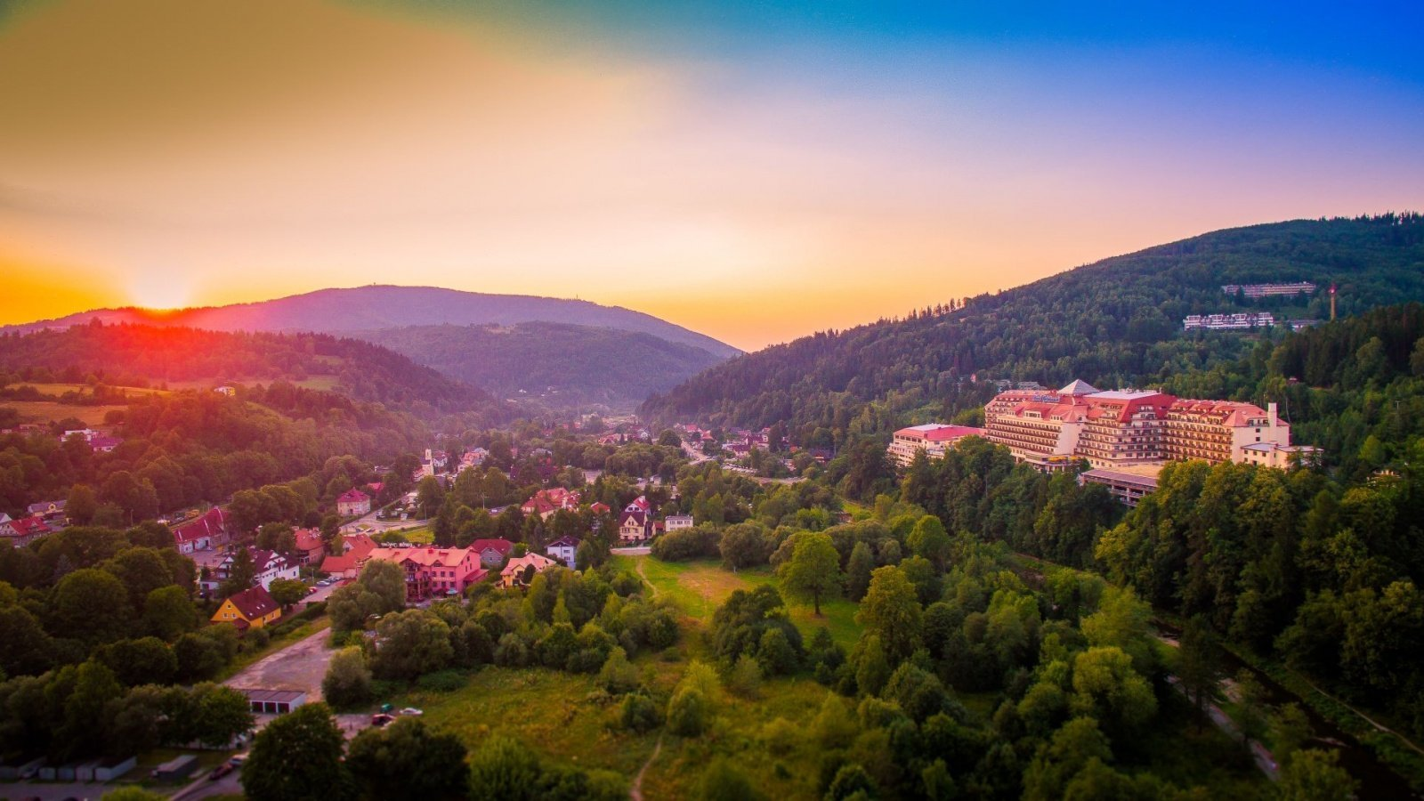 Holiday in the heart of Beskidy Mountains...